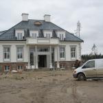 Fassaadi dekoratiivdetaili- ja krohvitööd. Majutusasutus Suurekivi Mõis, 2010 a. 27