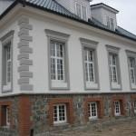 Fassaadi dekoratiivdetaili- ja krohvitööd. Majutusasutus Suurekivi Mõis, 2010 a. 41