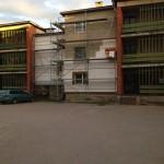 Korterelamu soojustuskrohv Olevi 33, Võru 2012 a. 2
