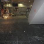 Plaatimistööd Solarise keskuse teatriosa peatrepil,fuajees ja teatribaaris, Tallinn 2009 a. 4
