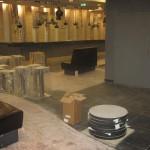 Plaatimistööd Solarise keskuse teatriosa peatrepil,fuajees ja teatribaaris, Tallinn 2009 a. 5